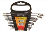 11 PC COMB SPANNER SET (6-19MM)