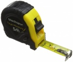 Blackspur 5m X 19mm Cont Tape Measure