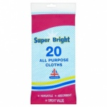 ALL PURPOSE CLOTH 20PK