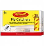Aeroxon Fly Catchers - Non-Toxic Natural Pest Control - 4 Pack Long Lasting