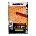 Ronseal ultimate decking natural pine  5ltr (37300)