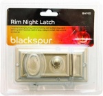 Blackspur Rim Night Latch