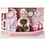 BABY DOLL WITH SOUND BEDTIME PLAYSET