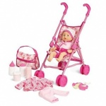 BABY DOLL STROLLER PLAYSET IN