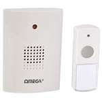 Omega Cordless Portable Door Chime Set (17630)