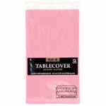 Plastic Table Cover 54 x 108 - Baby Pink