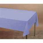 Plastic Table Cover 54 x 108 - Light Blue