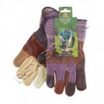 Heavy Duty Leather Rigger Garden Gloves (GGHDDRL)