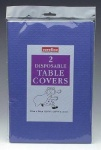 Caroline Paper Table Cover Royal Blue Pk2