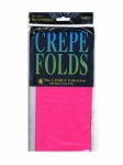 County Red Crepe Paper - Short Fold