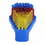 Screwdriver & Stand with set of 60pcs asst.