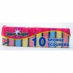 Superbright  Sponge Scourer 10pc x 10