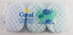 DISCONTINUE  Coral Pk3 Body Sponge
