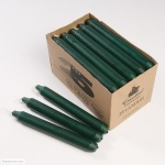 CANDLES BOX 25 DARK GREEN
