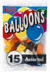 15pc Asstd Balloons Everts