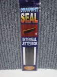 Internal Letterbox Draught Seal White