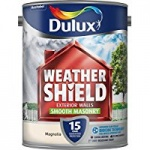 Dulux Weathershield Smooth Masonary Magnolia 5Ltr