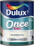 Dulux One Coat Gloss Pbw 0.75Ltr