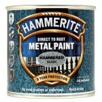Hammerite Hammered Silver Grey 250ml