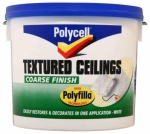 Polycell Tex Ceiling Coarse Matt 5Ltr
