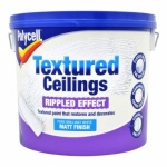 Polycell Tex Ceiling Matt Rippled 5Ltr