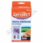 Zensect Anti- Moth Proofer 20 Sachets