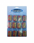 Duralon 50pc Drawing Pins Card of 12 (5410)