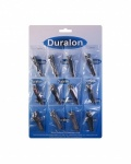 Duralon Finger Nail Clippers Card of 12 (2103)