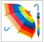 16'' Kids Auto Striped Umbrella