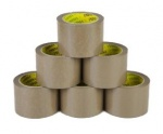 48mm X 40m Brown Tape (parcel tape) (R34074) PK6