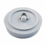 46mm Bath Plug White (S6833)