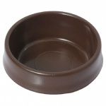 Small Castor Cup Brown pk4 (S5391)