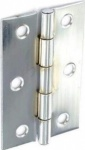 100mm Steel Butt Hinges Chrome Plated (S4303)