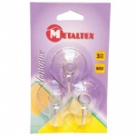 Metaltex Suction Hooks Set Of 3