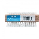 Elliotts FSC Wooden Double Sided Nail Brush