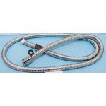 Stainless Steel Shower Hose 1.25m - 11mm Bore