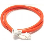 Inlet Hose 1.5m 90 degree  Bend Red