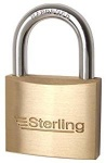 Sterling Brass Padlock Double Locking 20mm