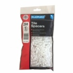 Plasplug 5mm Tile Spacers Bagged Pk250 (TSB5250)