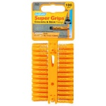 Plasplugs 100 Yellow Supergrip Plugs (SYP5010