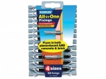 Plasplug All In One Fixings 4 Sizes (MFA500)