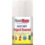 Plasti Kote F/D Aerosol Gloss White 100ml
