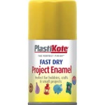 Plasti Kote F/D Aerosol Buttercup Yellow 100ml