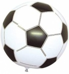 24''Black/Wht Inflatable F/Ball