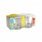 *** Set 4 Mixer Hobnob Tumblers 25cl