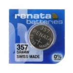 357 Renata Watch Batteries (Also For 303 or SR44W)