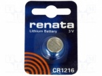 Cr1216 Renata Batteries