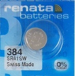384 Renata Watch Batteries