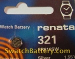 321 Renata Watch Battery