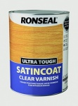 Ronseal Ultra Tough Satincoat Clear 5Ltr